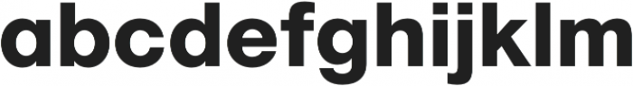 Geovetica SQ Extra Bold otf (700) Font LOWERCASE
