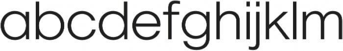 Geovetica SQ Light otf (300) Font LOWERCASE