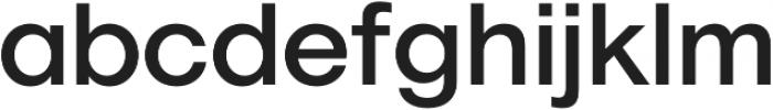 Geovetica SQ Medium otf (500) Font LOWERCASE