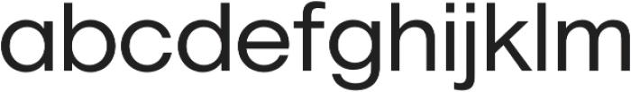 Geovetica SQ Regular otf (400) Font LOWERCASE