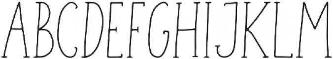 Geranium Regular otf (400) Font UPPERCASE