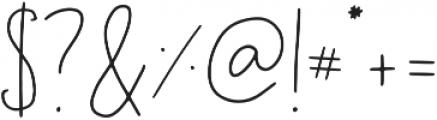 Geranium Regular ttf (400) Font OTHER CHARS