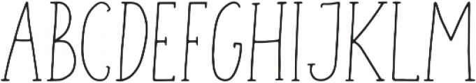 Geranium Regular ttf (400) Font UPPERCASE