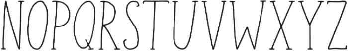 Geranium Regular ttf (400) Font LOWERCASE