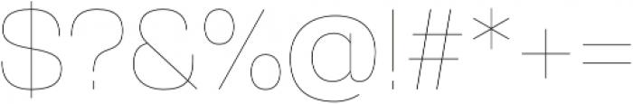 Gerlach Sans 100 otf (100) Font OTHER CHARS