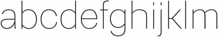 Gerlach Sans 200 otf (200) Font LOWERCASE