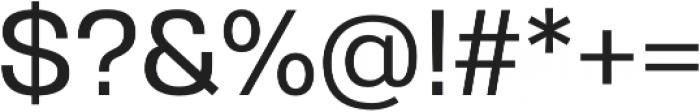 Gerlach Sans 500 otf (500) Font OTHER CHARS