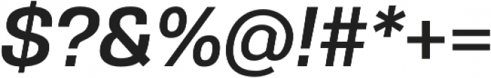 Gerlach Sans 601 otf (400) Font OTHER CHARS