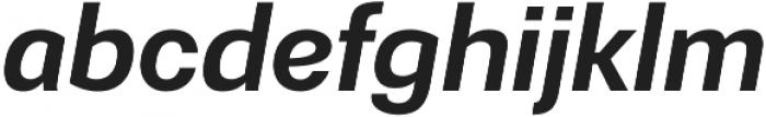 Gerlach Sans 601 otf (400) Font LOWERCASE