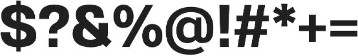 Gerlach Sans 700 otf (700) Font OTHER CHARS