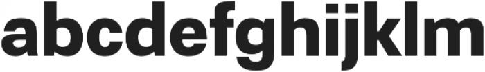 Gerlach Sans 700 otf (700) Font LOWERCASE