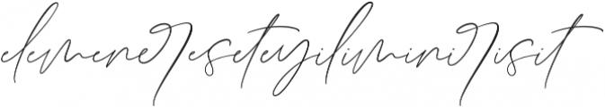 Germany Script Ligatures Regular ttf (400) Font LOWERCASE