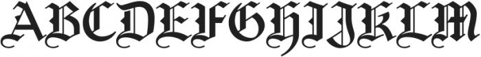 Germany ttf (400) Font UPPERCASE