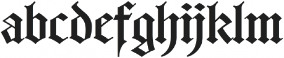 Germany ttf (400) Font LOWERCASE