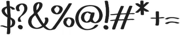 Geryta otf (400) Font OTHER CHARS