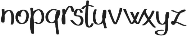 Geryta otf (400) Font LOWERCASE