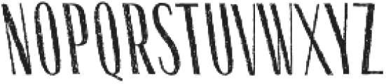 Gessetto Sans Backslanted otf (400) Font LOWERCASE