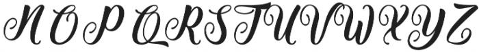 Getsu Magic otf (400) Font UPPERCASE