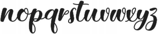 Getsu Magic otf (400) Font LOWERCASE