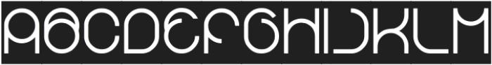 gembira-Inverse otf (400) Font UPPERCASE