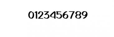 GedrickBold.ttf Font OTHER CHARS