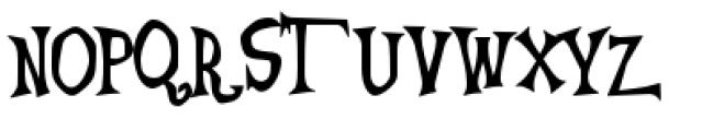 Generation B Font UPPERCASE