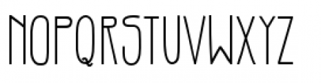 Gentil Bold Font LOWERCASE
