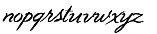 Geronimo Font LOWERCASE