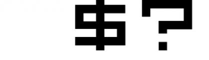 GeoBlocks - a geometric font set of blocks and shapes! 1 Font OTHER CHARS