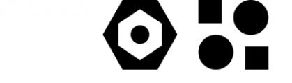GeoBlocks - a geometric font set of blocks and shapes! Font OTHER CHARS