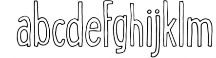 George & Francis Font Pack + Handdrawn shapes 1 Font LOWERCASE