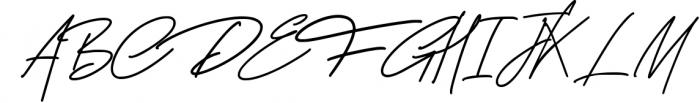 George Signature Classy Font UPPERCASE