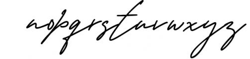 George Signature Classy Font LOWERCASE