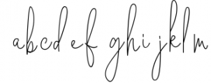 Geraldine | Hand Written Font 1 Font LOWERCASE