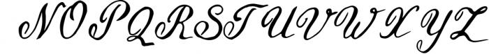 Geranium Font Font UPPERCASE