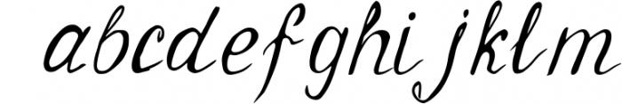 Geranium Font Font LOWERCASE
