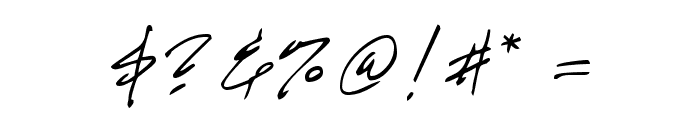 GE HandyScript Font OTHER CHARS