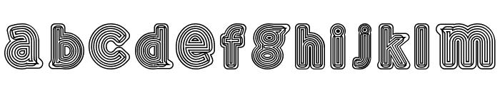 GELAM Font LOWERCASE
