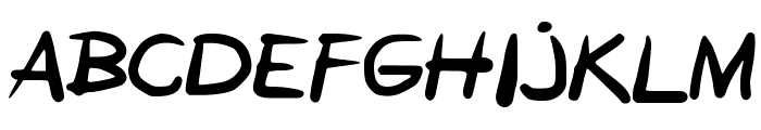 GEMETERAN Font UPPERCASE