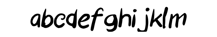 GEMETERAN Font LOWERCASE