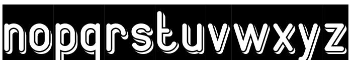 GENERATION-Inverse Font LOWERCASE