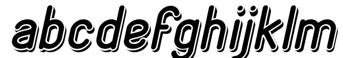 GENERATION Italic Font LOWERCASE