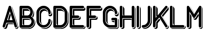 GENERATION Font LOWERCASE