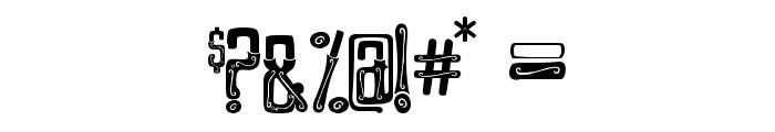 GENTLEMAN CLOWN FULL Font OTHER CHARS