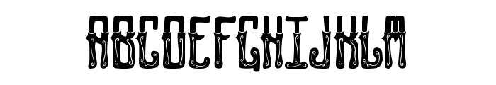 GENTLEMAN CLOWN FULL Font LOWERCASE