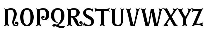 GErontoBis Font UPPERCASE