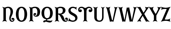 GErontoBis Font LOWERCASE