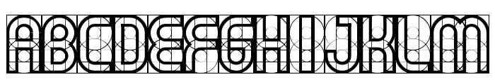 Gear Font UPPERCASE