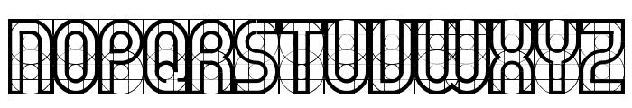 Gear Font LOWERCASE