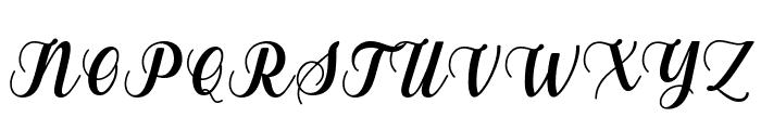Gebrina Font UPPERCASE
